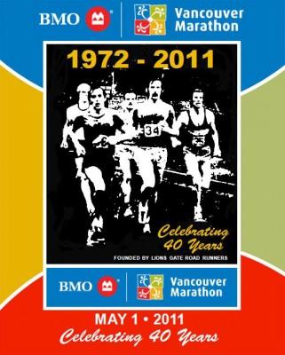 BMO Vancouver marathon poster